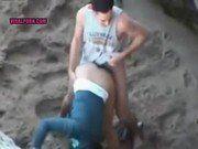 Flagra Novinha Fazendo Sexo Na Praia