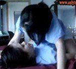 Lindo casal de lesbicas amador