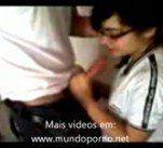 Video Boquete na escola novinha safada