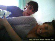 Namorada levando pica na frente da webcam