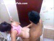 Fodendo Gostoso No Banheiro Com Namorada Safada
